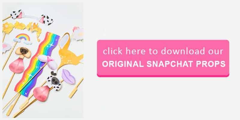 Original Snapchat Props Button