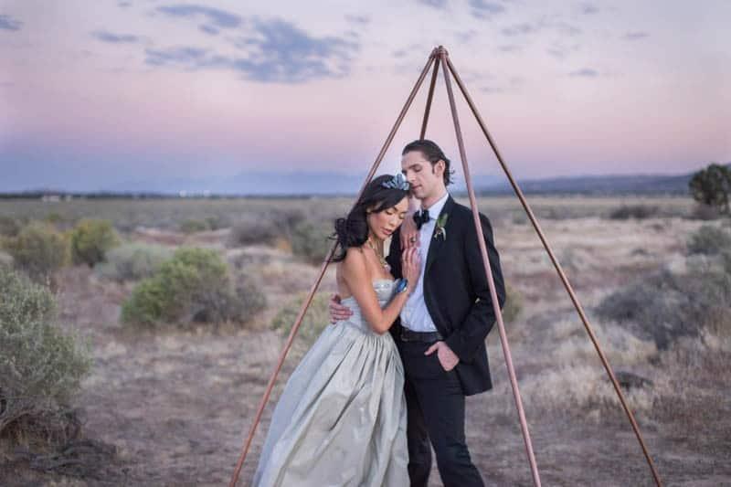RUSTIC BOHO CRYSTAL WEDDING IDEAS WITH AMETHYST QUARTZ (22)