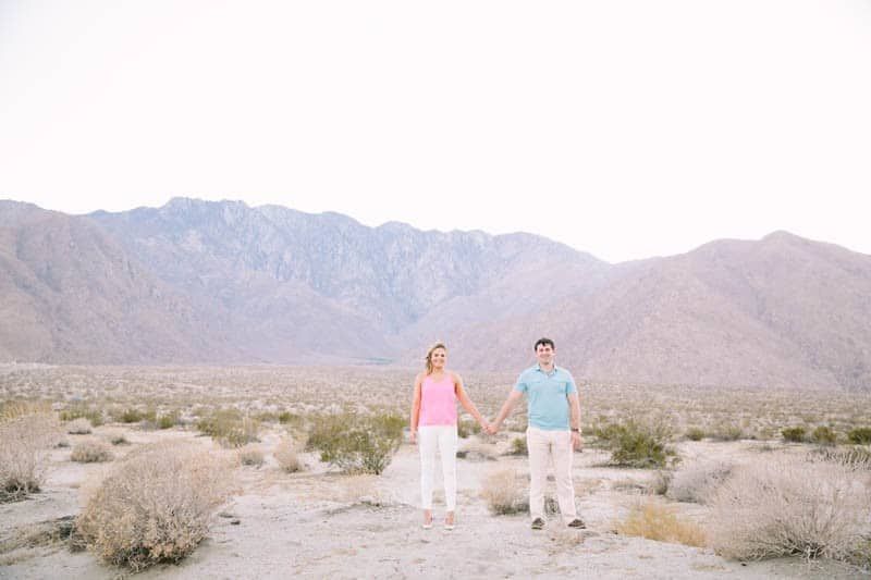 SWEET PASTEL PINK PALM SPRINGS ENGAGEMENT SESSION (9)