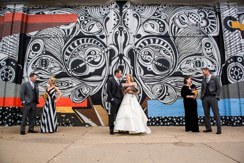 FUNKY COLORADO THEMED WEDDING WITH A PET PIG (1)