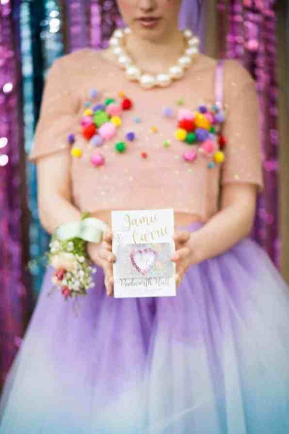Prom Night Alternative Wedding photo