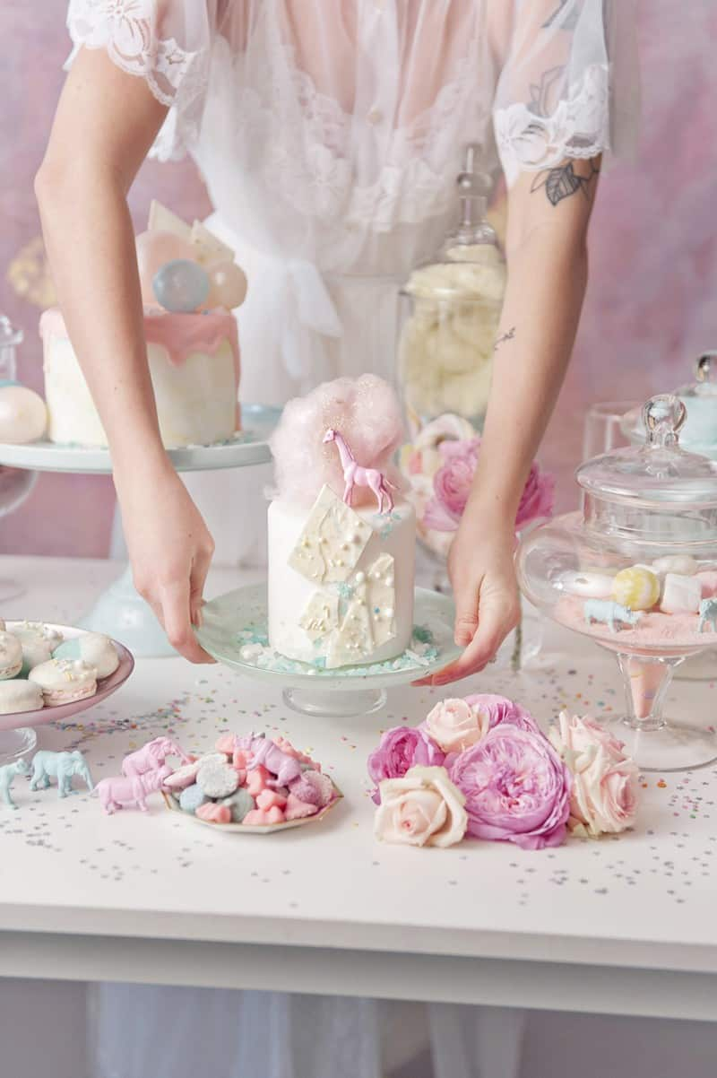 SWEET PINK PASTEL UNICORN BRIDAL SHOWER HEN PARTY SLEEPOVER (25)
