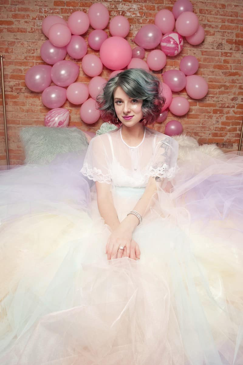 SWEET PINK PASTEL UNICORN BRIDAL SHOWER HEN PARTY SLEEPOVER (38)