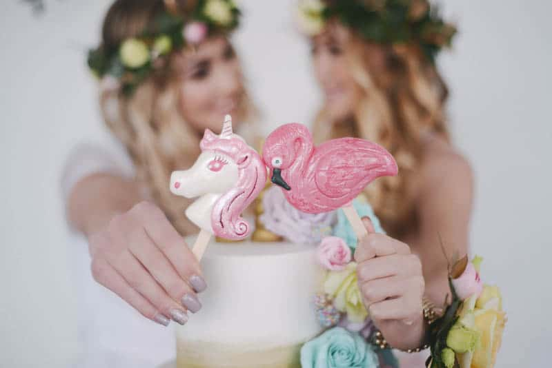 BOHEMIAN PASTEL CANDY THEMED BRIDAL SHOWER IDEAS (20)