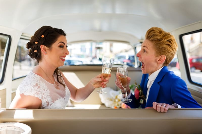 SAME-SEX COLOURFUL SPRING WAREHOUSE WEDDING (3)