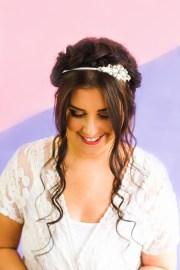 wear wedding headband