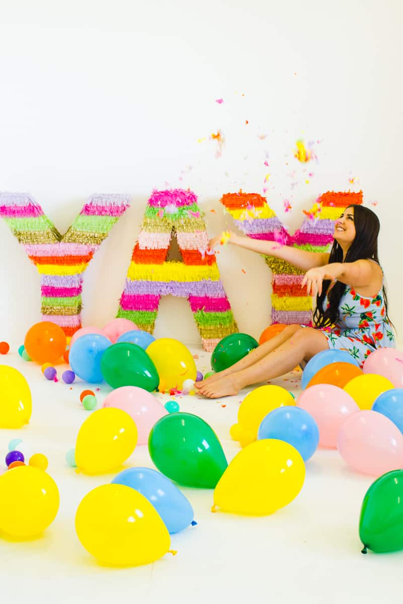 Diy Giant Mexican Colourful Letters Fun Wedding Decor Bespoke