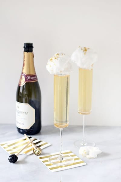 Ginger Prosecco Cocktail