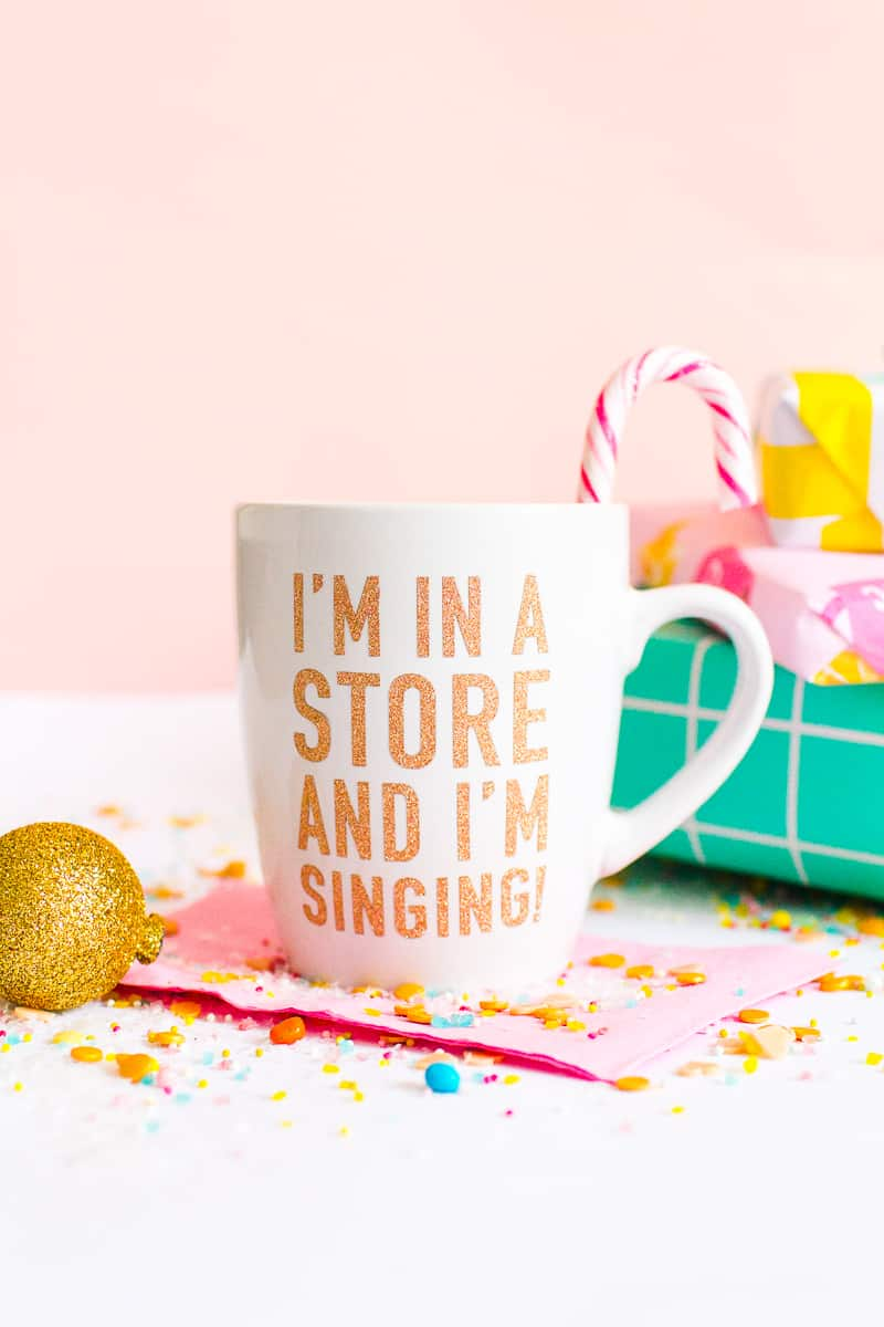 DIY ELF QUOTE MUGS + VEGAN HOT CHOCOLATE RECIPE | Bespoke ...