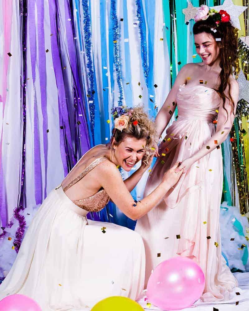 Rainbow wedding ideas bespoke bride wedding blog colourful rainbow ideas that are suitable for any wedding venue junglespirit Gallery