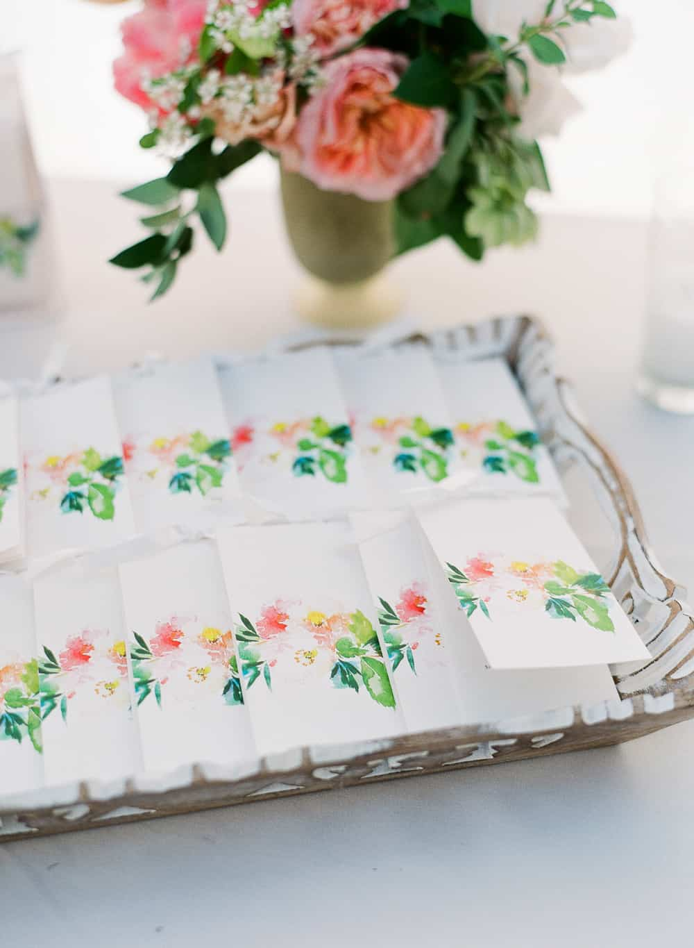 BRIGHT AND COLOURFUL TROPICAL WEDDING INSPIRATION IN SANTA BARBRA ...