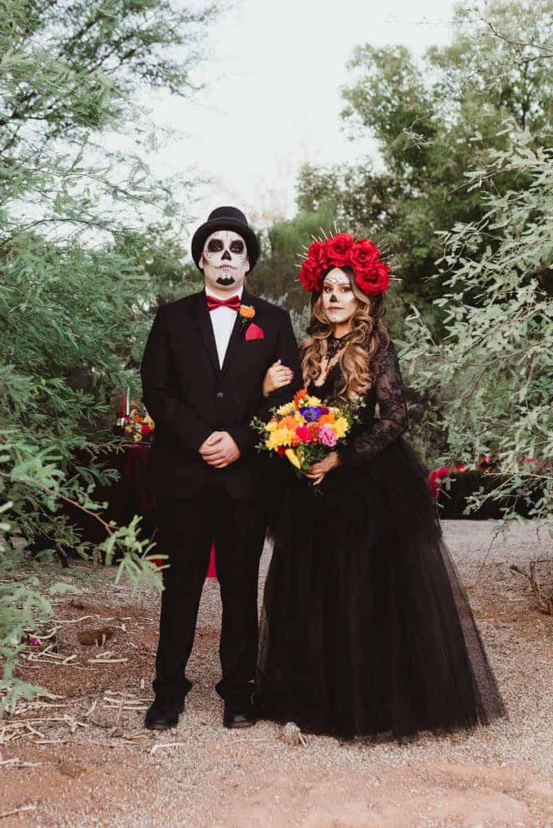 SPOOKTACULAR DAY OF THE DEAD WEDDING INSPIRATION | Bespoke-Bride ...