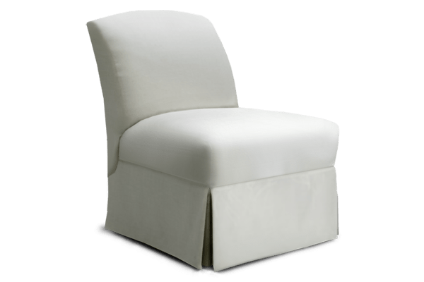white leather slipper chair upholstered chairs with arms rose