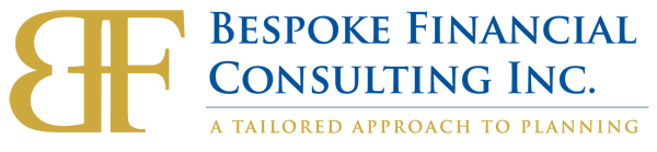 Logo for Bespoke Financial Consulting Inc. - A Tailored Approach to Planning