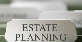 Image of tab that says Estate Planning