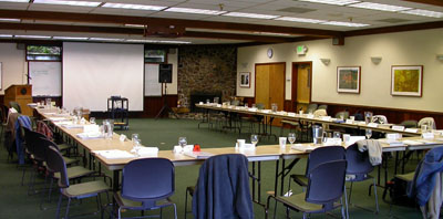 Image of a typical training room