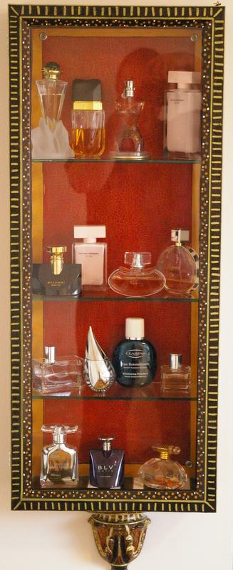Perfume Cabinet  Bespoke Framing