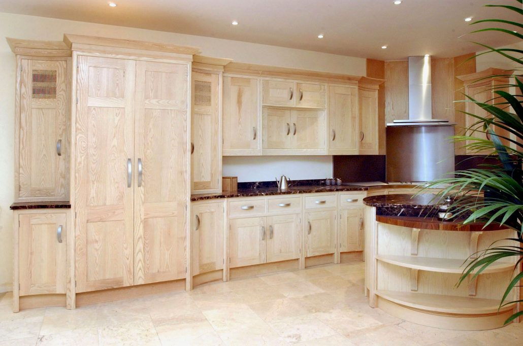 oak kitchen chairs standard table size light furniture bespoke kitchens by mario