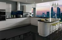 Curved Modern Kitchens - Handmade Bespoke Kitchens by ...