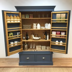 Furniture Kitchen Pantry Custom Sinks Bespoke Larder Cupboard - Bennington Style