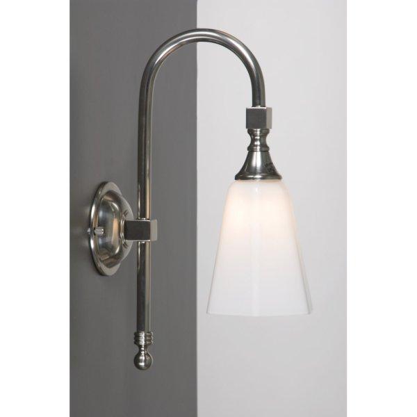 traditional bathroom wall lights BATH CLASSIC Traditional IP44 Satin Nickel Bathroom Wall Light