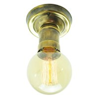 Industrial Low Ceiling Light Fitting with Vintage Edison ...