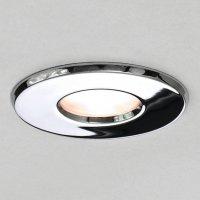Chrome Recessed Bathroom Ceiling Light, Low Voltage IP65 ...
