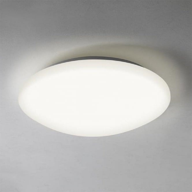 Circular Flush Fitting LED Bathroom Ceiling Light Sensor Operated