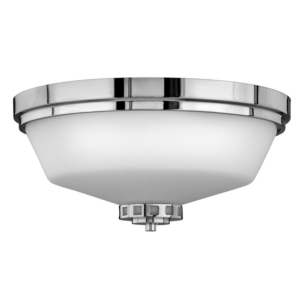 Traditional Flush Fitting Bathroom Ceiling Light IP 44 Safe