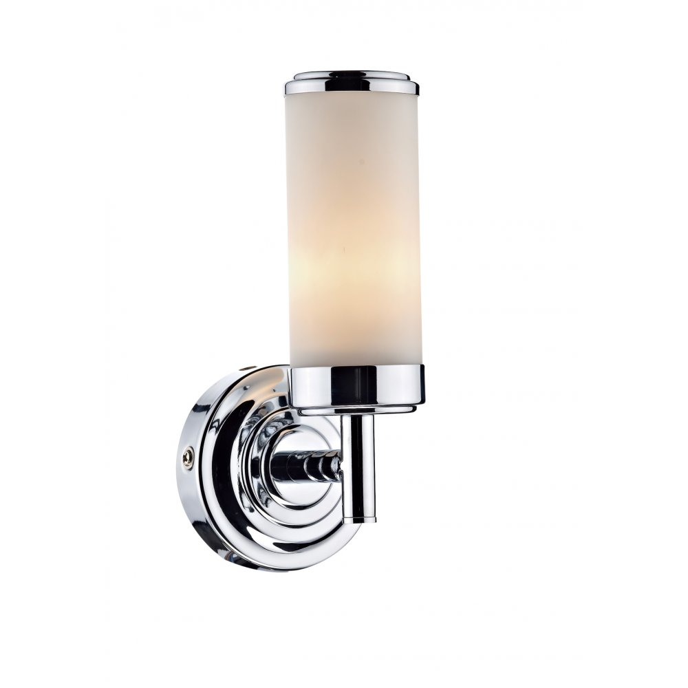 IP44 Double Insulated Bathroom Wall Light Art Deco Style