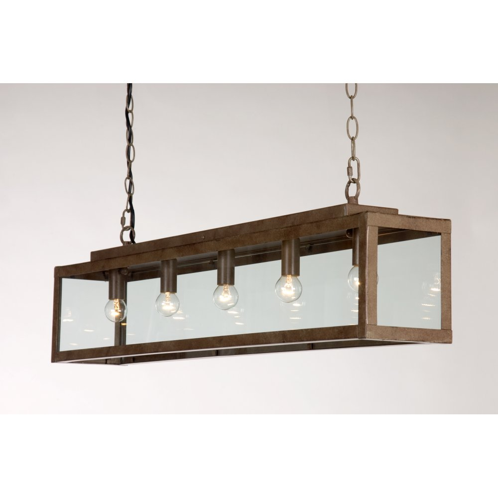 Rustic Pendant Lighting Kitchen