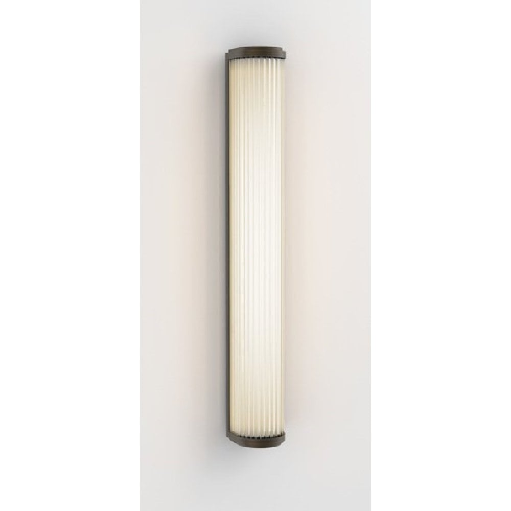 versailles deco style led bathroom wall light in bronze with glass rods xlarge