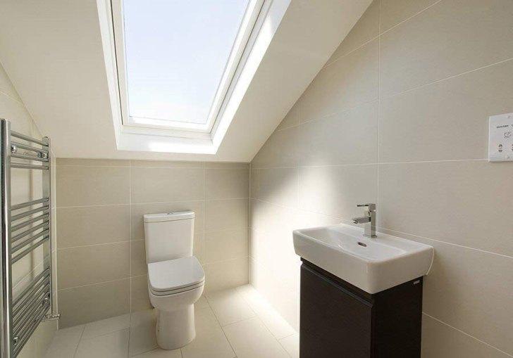 Small Attic Bathroom Design Ideas