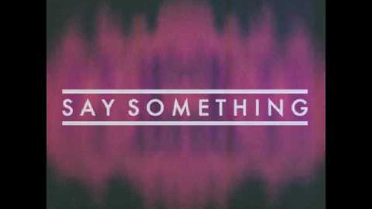 Fond Of Rudy - Say Something