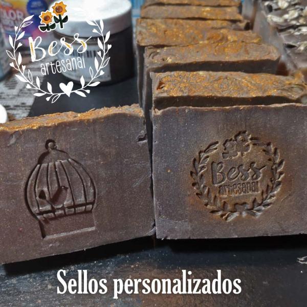 Bess Artesanal -Sellos para jabón personalizados