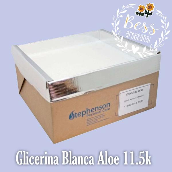 Bess Artesanal - Glicerina Stephenson Blanca Aloe Blanca 11.5k