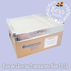 Bess Artesanal - Glicerina Transparente Aloe 11.5k