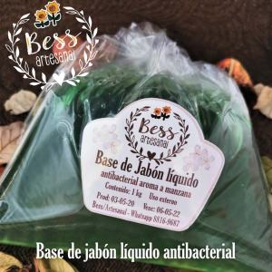 Bess Artesanal - Base de jabón líquido antibacterial