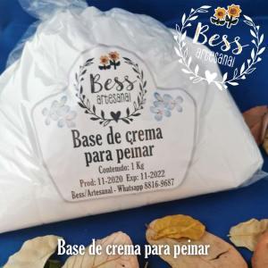 Bess Artesanal - Base de crema para peinar
