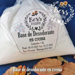 Bess Artesanal - Base de desodorante en crema
