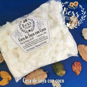 Bess Artesanal - Cera de soya con coco