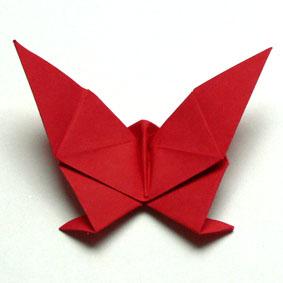 Origami Pflanzen falten  Seerose