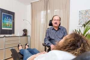 Hypnosetherapeut Hanspeter Ricklin