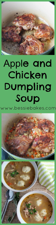Apple and Chicken Dumpling Soup Pinterest
