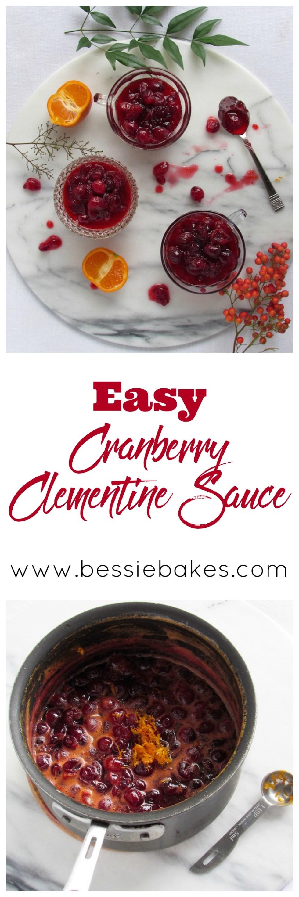 Cranberry Clementine Sauce Pinterest