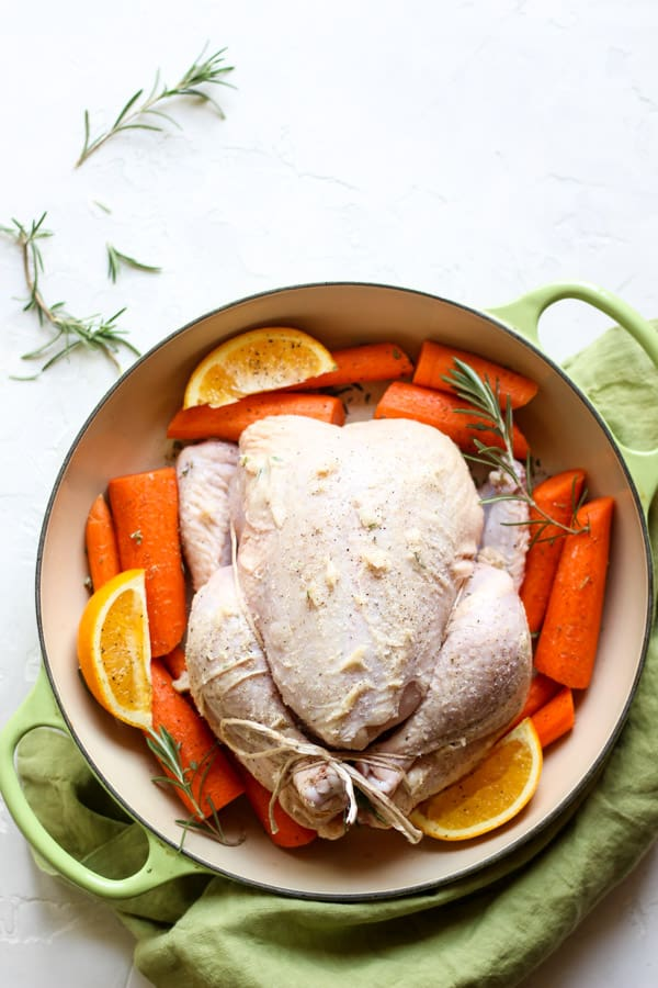 How to roast chicken in a fraction of the time!