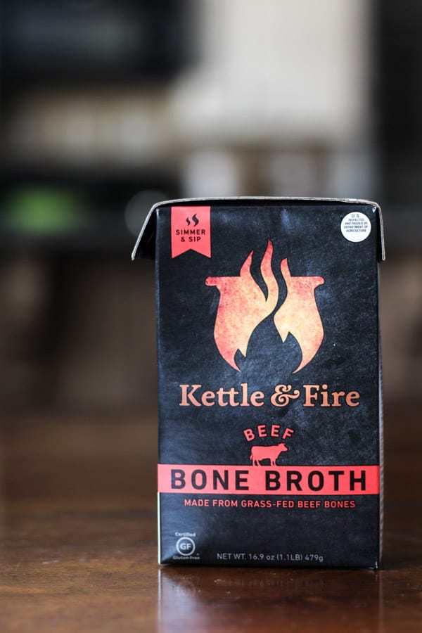 Kettle and fire organic beef bone broth