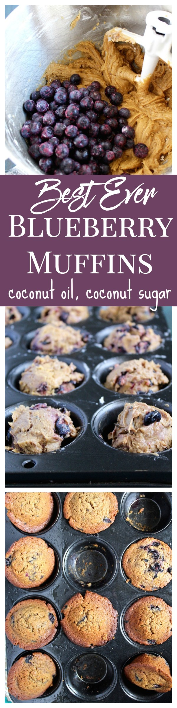 Best Ever Blueberry Muffins Pinterest