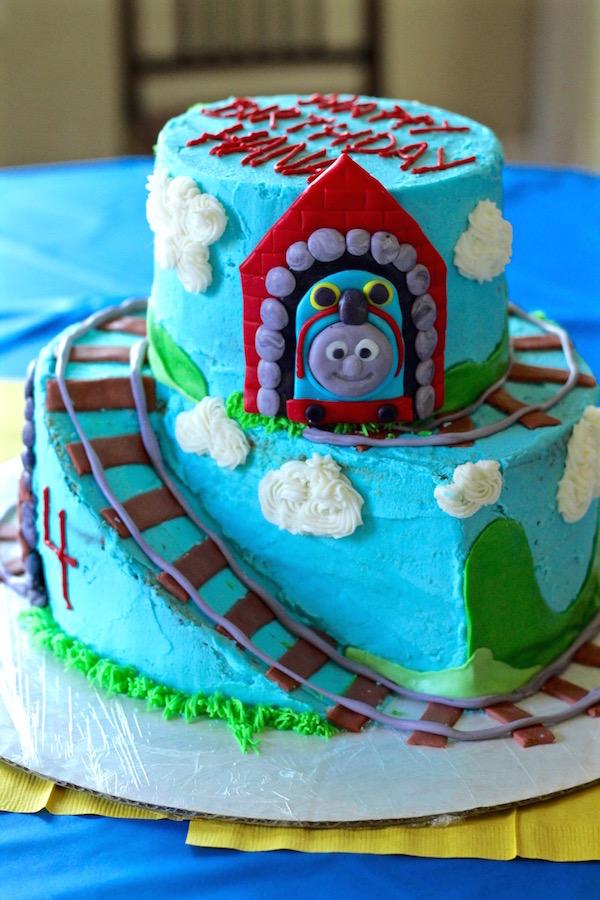 Thomas The Train Birthday Cake Bessie Bakes