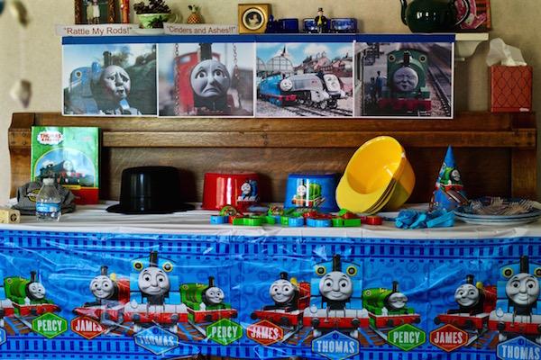 thomas the train birthday supplies decorations